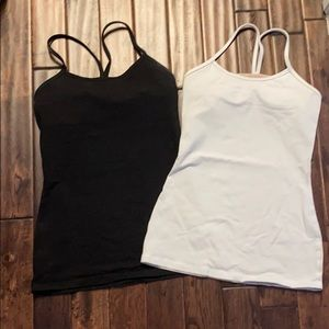 2 for 1 Power Y tank by luluLemon